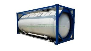 China Bulk 22 500 Litre Loading Capacity 20ft Iso Cement