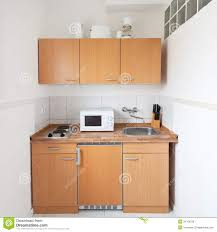 Simple Kitchen Simple Kitchen With Furniture Set Royalty Free Stock Images