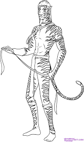 Small Picture Avatar Coloring Pages navi avatar coloring pages Kids Coloring