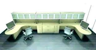 2 person reception desk Modern Wo Person Shaped Reception Desk Two Jgzymbalistcom Wo Person Shaped Reception Desk Two Ignitingthefire