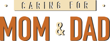 caring for mom dad caring for mom and dad logo