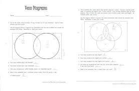 Triple Venn Diagram Problems Venn Diagram Grade 2 Worksheets Flauders Info