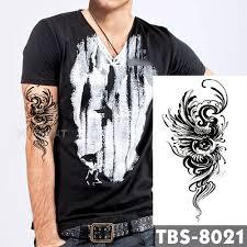 5698 руб 5 скидка12x19 см водонепроницаемые временные татуировки глаза феникс