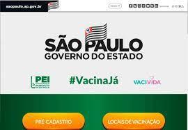 """Vacina Já"""" - Governo de SP lança site para pré-cadastro em campanha de  vacinação"""