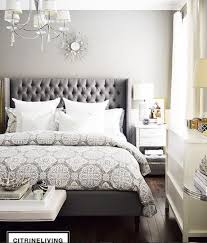 Tufted Headboard for an Unprecedented Comfort on Your Bed ... & Tufted Headboard grey patterns and tufted headboard make the perfect combo  citrine living DSVZQAF Adamdwight.com