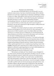 Internship Report Sample Free Essays Free Essay Examples - Mandegar.info