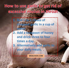 How to deal with excessive mucus in throat?