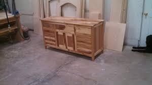 woodworking plans vanity. rustic hickory vanity woodworking plans y