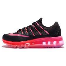 nike running shoes 2016 black. wmns n i k e air max 2016 black pink womens running shoes sneakers 806772-006 nike 0