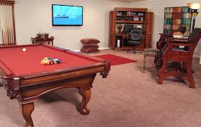 Wooden Games Room Casual Idea Of Game Rooms Designs Showing Red Wooden Billiard 99