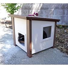 unique outdoor cat furniture and flex cat house outdoor image next to wall 92 outdoor cat furniture uk
