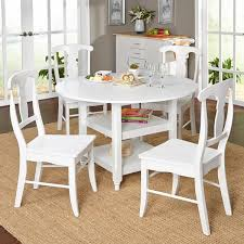 white round dining table. simple living cottage white round dining table - free shipping today overstock.com 10783369