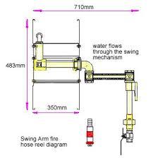 fire hose reel dimensions