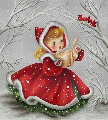 French Cross Stitch Charts Instant Download Les Petites Croix De Lucie La Chanson De