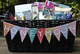 wedding gift basket ideas