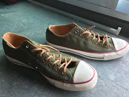 converse chuck taylor all star leather laces men s fashion footwear sneakers on carou