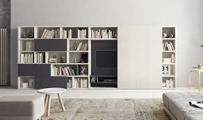 Small Picture Contemporary Living Room Wall Units And Libraries Ideas