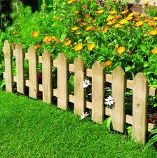 garden border fences novocom top
