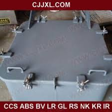 Ship Weathertight Hatch Cover For Steel Aluminum Cover