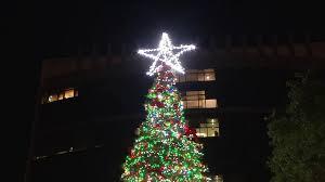Tree Lighting Jacksonville Jacksonville Holds Christmas Tree Lighting Ceremony