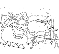 Small Picture Rudolph coloring pages