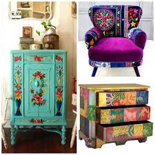 bohemian style furniture. Hippie Home Decor Bohemian Interior Style On Furniture Pinterest