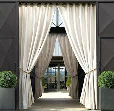full image for custom outdoor privacy curtains sunbrellaar dry outdoor patio area on each side of