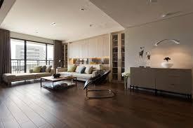 apartment interior design. Apartment:Cheerfulr Red White And Yellow Apartment Interior Design Using Sofa Plus Glass P