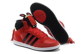 adidas shoes high tops black and red. latest adidas neo high-tops shoes for women f38174 red black high tops and