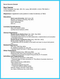 Professional Nursing Resume Professional Nursing Resume Template Objective For Registered Nurse 15