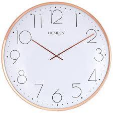 henley wall clocks henley 40cm large