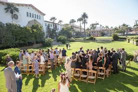 elopements and weddings in santa barbara 360 views of the courthouse sunken garden