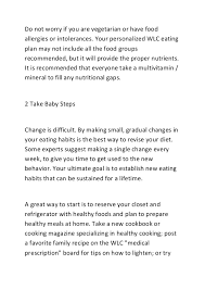 tips for weight loss to start your diet off right 3