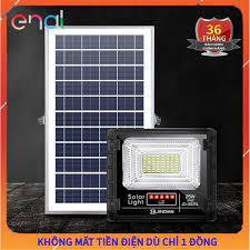 Đèn Năng Lượng Mặt Trời JD Solar, Đèn LED NLMT Sử Dụng 10 Năm Không Tốn  Điện, JD 8825L Công Nghệ Mới - Công Suất 25W chính hãng 475,000đ