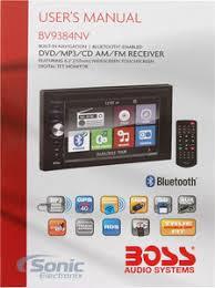 boss bv9384nv double din navigation in dash car stereo w 6 2 product boss bv9384nv
