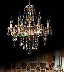 Us 1360 15 Offluxus Gelb Geblasen Glas Kronleuchter Moderne Kristall Kronleuchter 6 Lichter Für Wohnzimmer Hause Beleuchtung Esstisch Kronleuchter