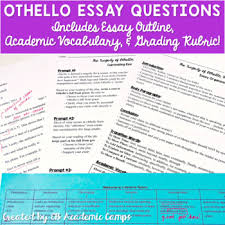 othello essay questions othello essays iago othello chapter two honesty and difference men immigration essay introduction rogerian essay topics