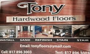 tony hardwood floors service flooring 1000 angora st dallas tx phone number yelp