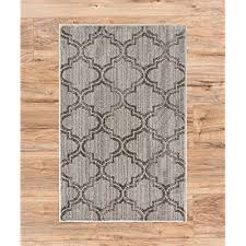 minaret trellis light charcoal grey vine moroccan lattice modern geometric area rug 2 x 3 1 8 x 2 8 neutral shabby chic thick soft plush shed