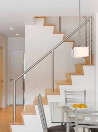 Modern House With Stainless Steel Stair Railing - Long Lasting ...