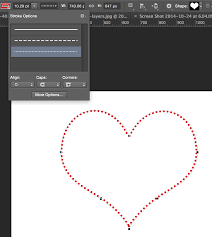 To draw a straight line: Dotted Lines In Photoshop Tutorial Photoshopcafe