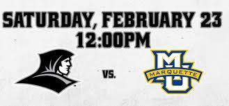 Providence College Mens Basketball Vs Marquette University