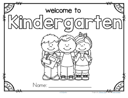 Small Picture Welcome To Kindergarten Coloring Page FunyColoring