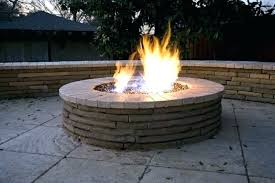 fire pit glass pits with beads bead grill ideas wind guard round glas