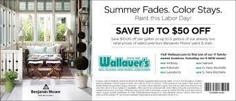 Wallauer Paint And Design New Rochelle Wallauers Labor Day Assets Coupon