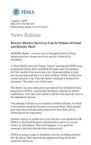 Is A Seeing Rgv Fema Aware In Residents Be Surge Fraudulent Uxf4qIH