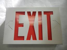 Lithonia Lighting Exit Signs Lithonia Lighting X Series Exit Sign