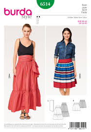 Tiered Skirt Pattern