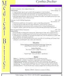 Resume Format For Medical Transcriptionist Nfcnbarroom Com