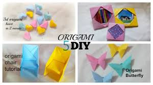 5 minute crafts to do when you re bored 5 quick and easy diy ideas amazing origami diy craft